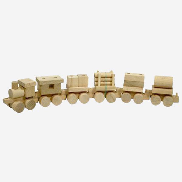 Dřevěný Vláček nákladní - MIKToys