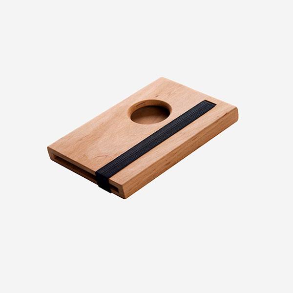 Cube - ořechové dřevo