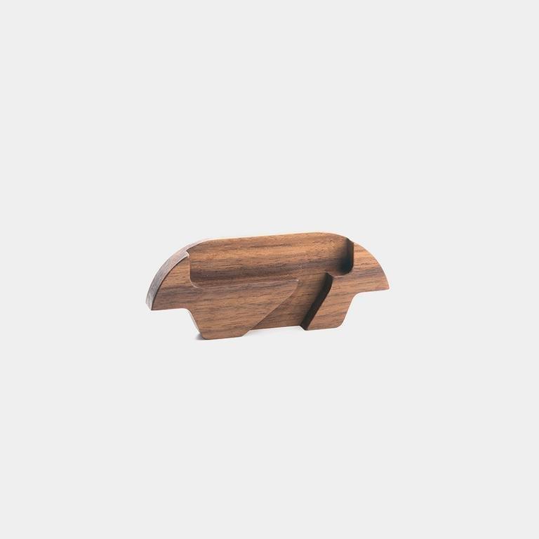 Adaptér Trobla - ořechové dřevo - pro Samsung Galaxy S7 Edge