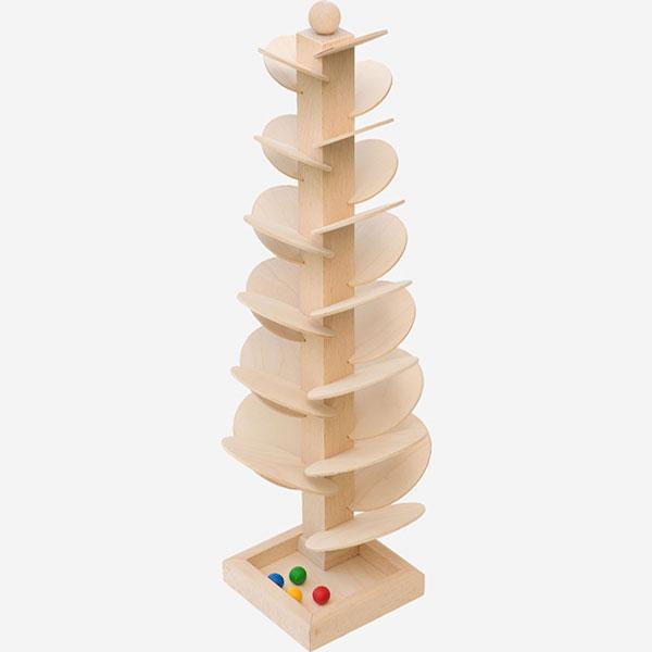 Kuličková dráha se zvukem - hrací strom