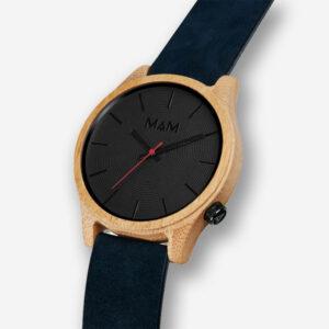 aad654a1a Dřevěné hodinky Quail Blue | Justwood